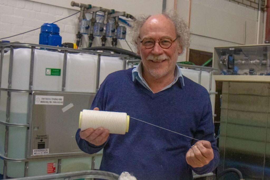 Sinds 2010 werkt Gerrit Bouwhuis mijn zijn team aan het rondkrijgen van circulaire textielproductie, wereldwijd.